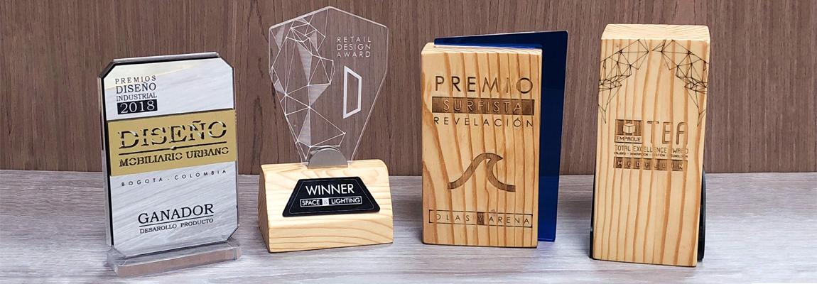 Premiaciones, trofeos y medallas
